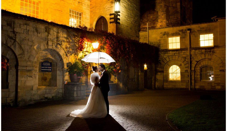 Hazlewood Castle - Yorkshire Wedding Photography
