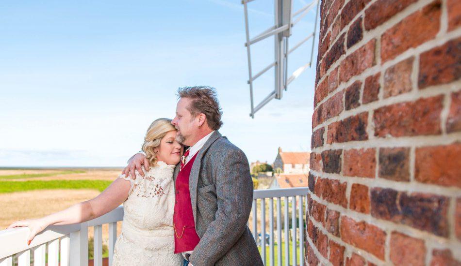 Nicola & Andy Walker-Smith - Cley Windmill Norfolk Wedding Photography