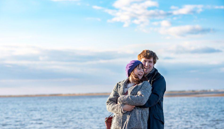 Rosie & Ben - Norfolk Beach Engagement Shoot