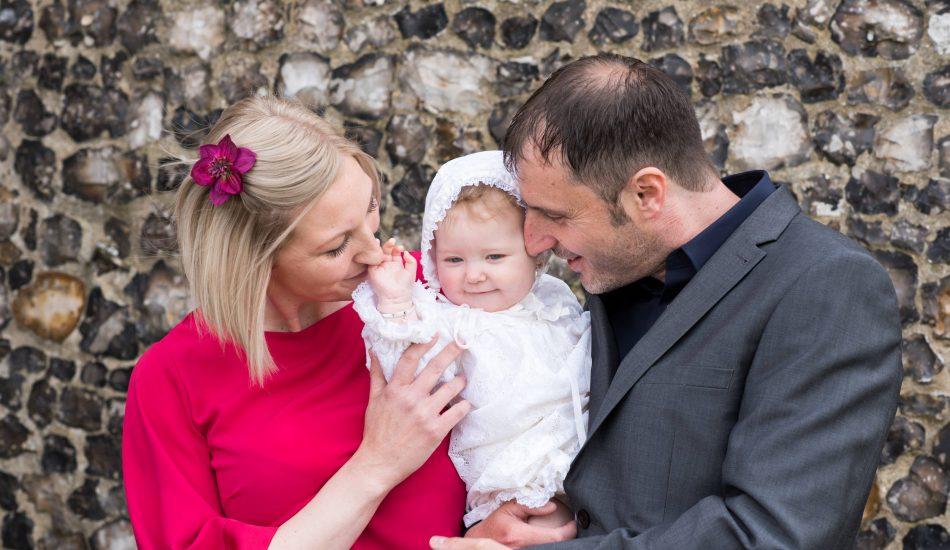 Bella's Christening - Norfolk Family Photography